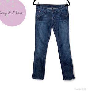 """Hudson """"Carly"""" Straight Leg Dark Wash Jeans  26"""